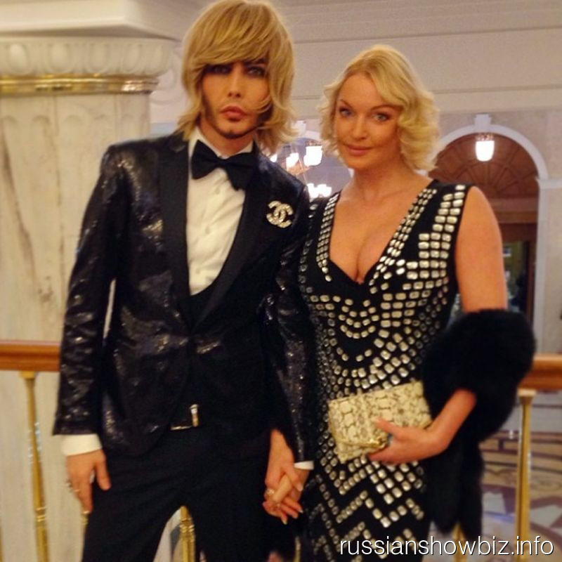 Сергей Зверев и Анастасия Волочкова