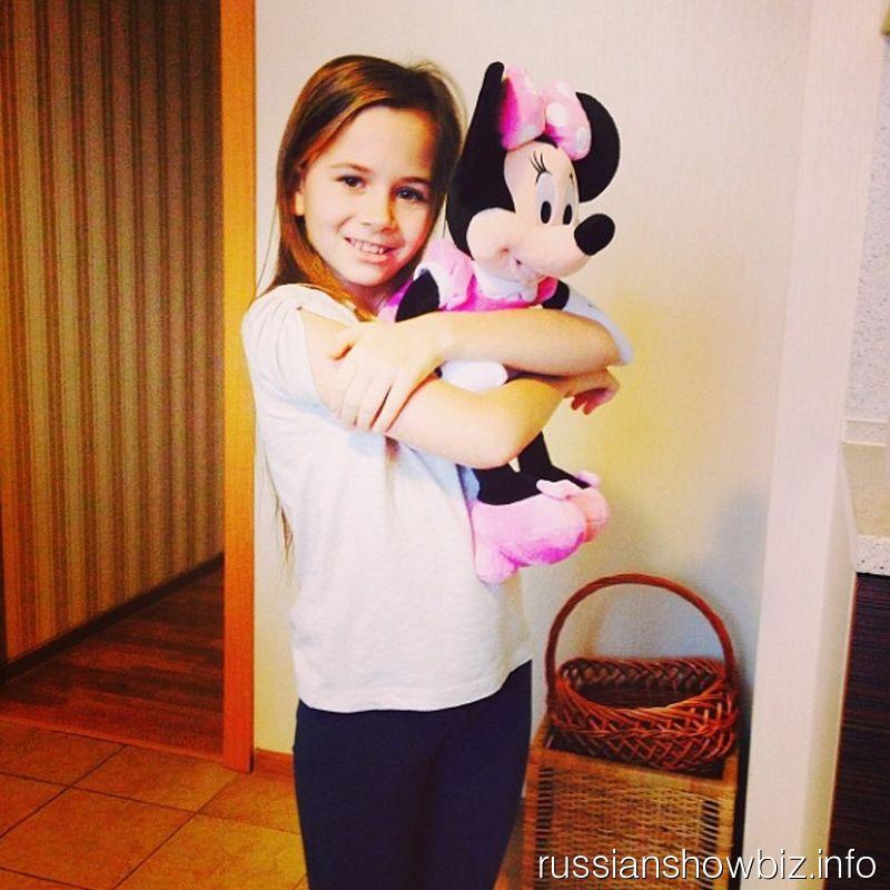 Дочь Саши Зверевой