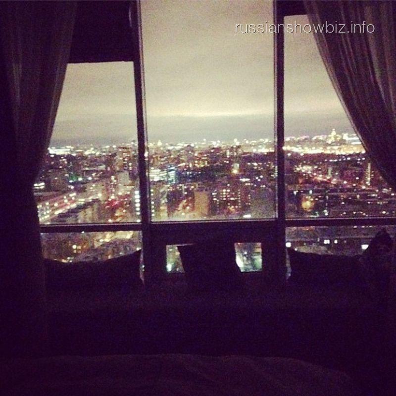 Вид из окна квартиры Анфисы Чеховой