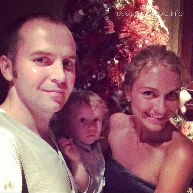 Катя Гордон и Сергей Жорин с сыном