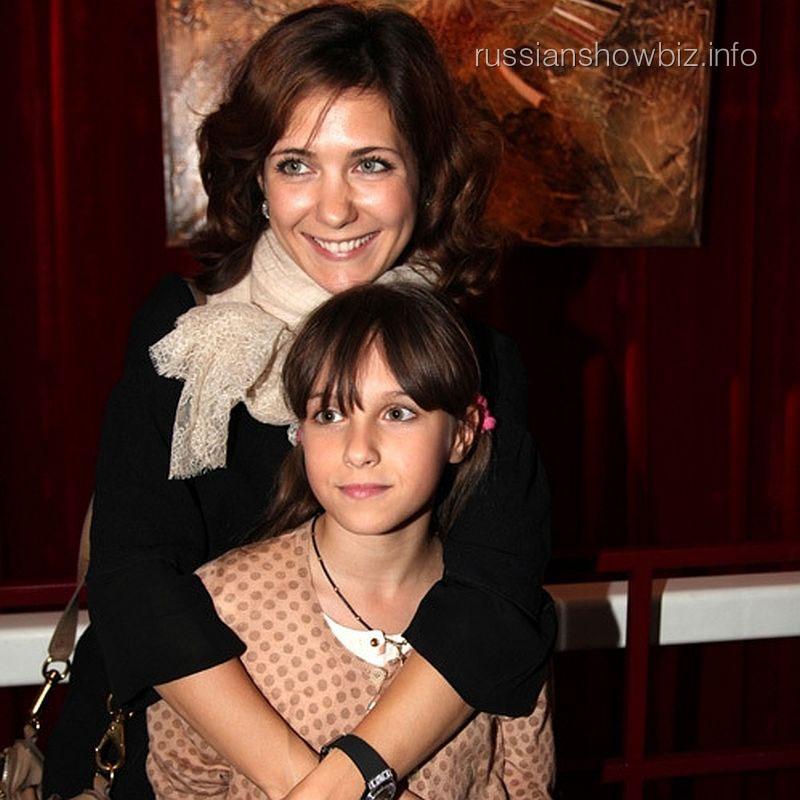 Екатерина Климова с дочкой