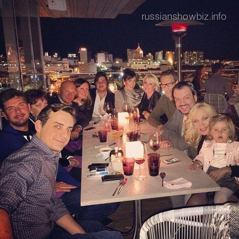 День рождения мужа Кристины Орбакайте
