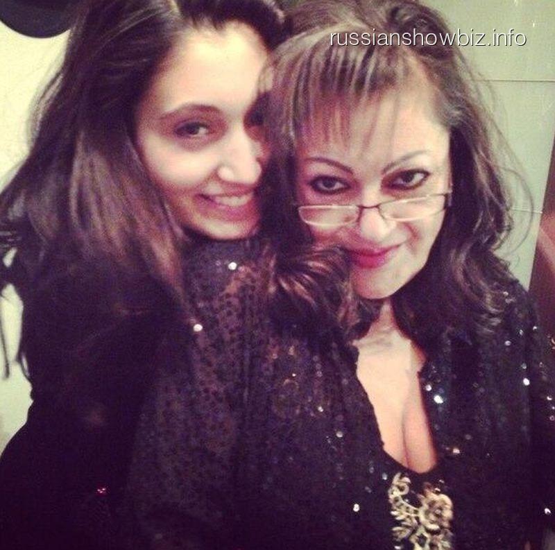 Ирина Отиева с дочкой