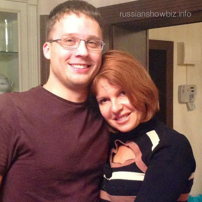 Наталья Штурм с мужем