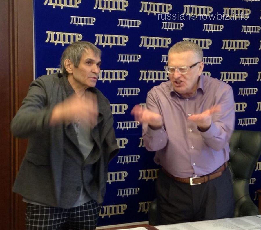 Бари Алибасов и Владимир Жириновский
