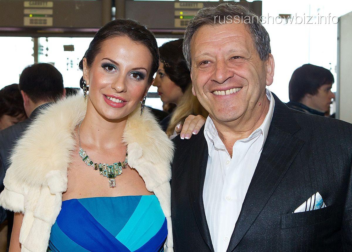 Борис Граческий с женой Анной