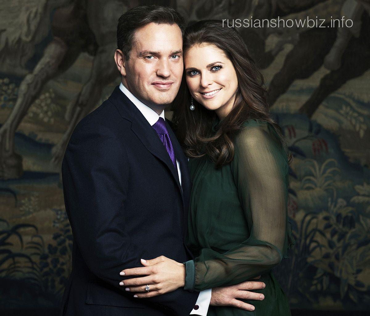 Принцесса Мадлен с мужем