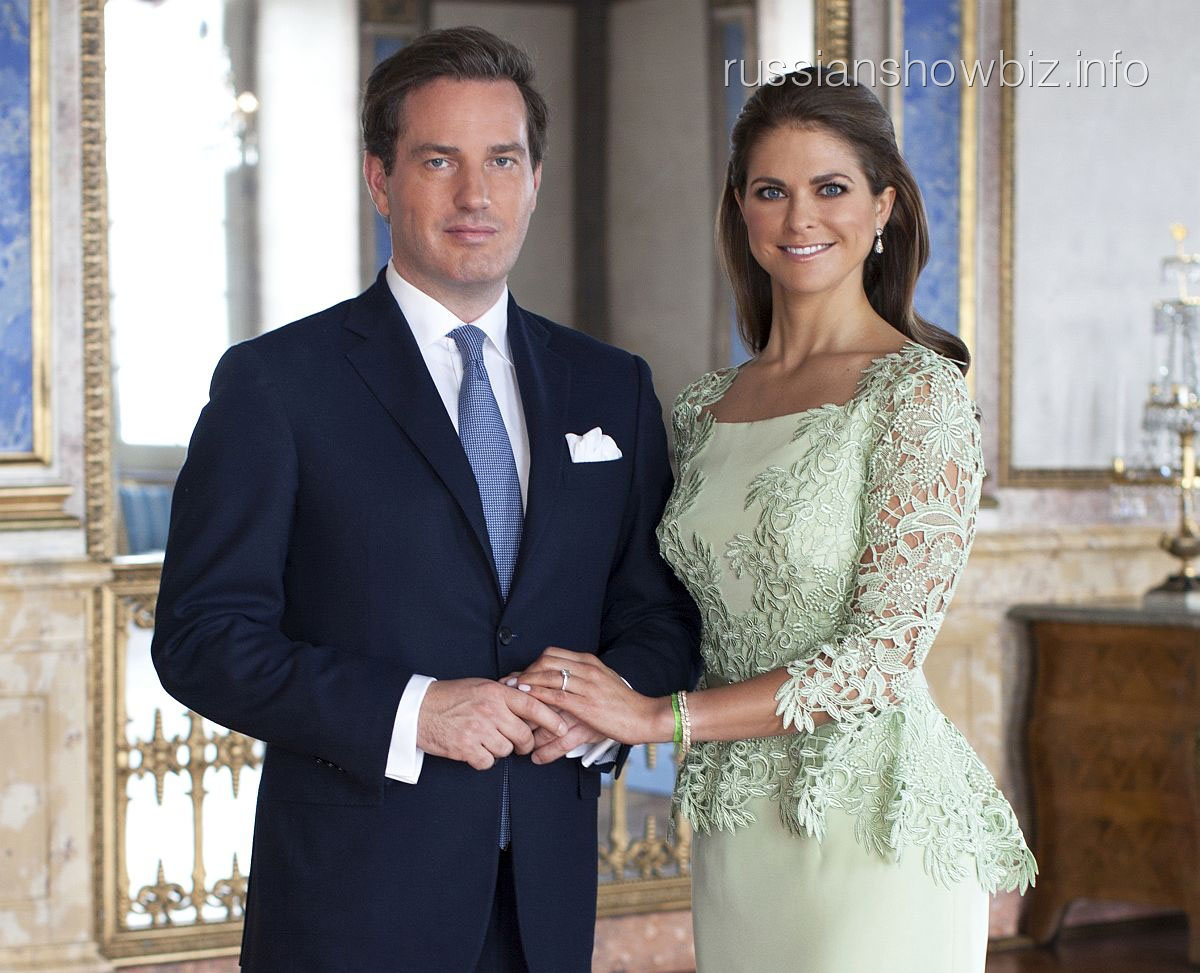 Принцесса Мадлен с мужем Кристофером О'Нилом