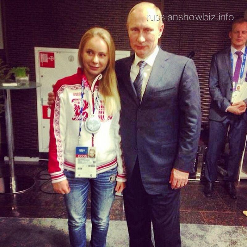 Дочь Татьяны Навки с Владимиром Путиным