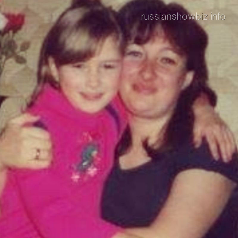 Анастасия Приходько с мамой