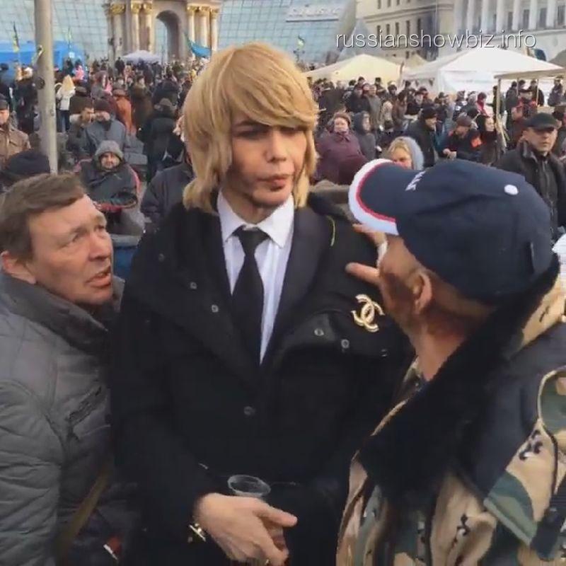Сергей Зверев на Майдане