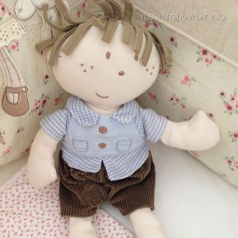 Любимая игрушка дочки Кристины Асмус