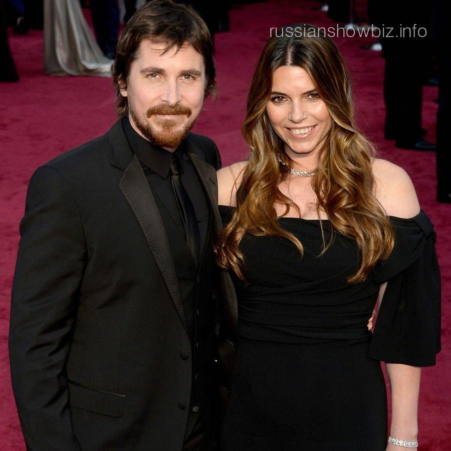 Кристиан Бейл с женой Сиби