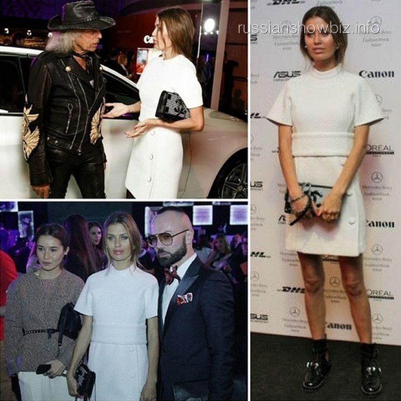 Виктория Боня на открытии Недели моды