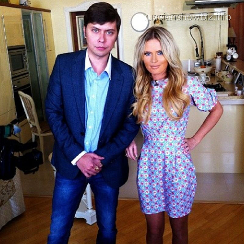 Роман Фад и Дана Борисова