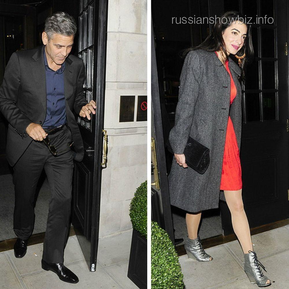 Джордж Клуни и Джулиана Ассанджа