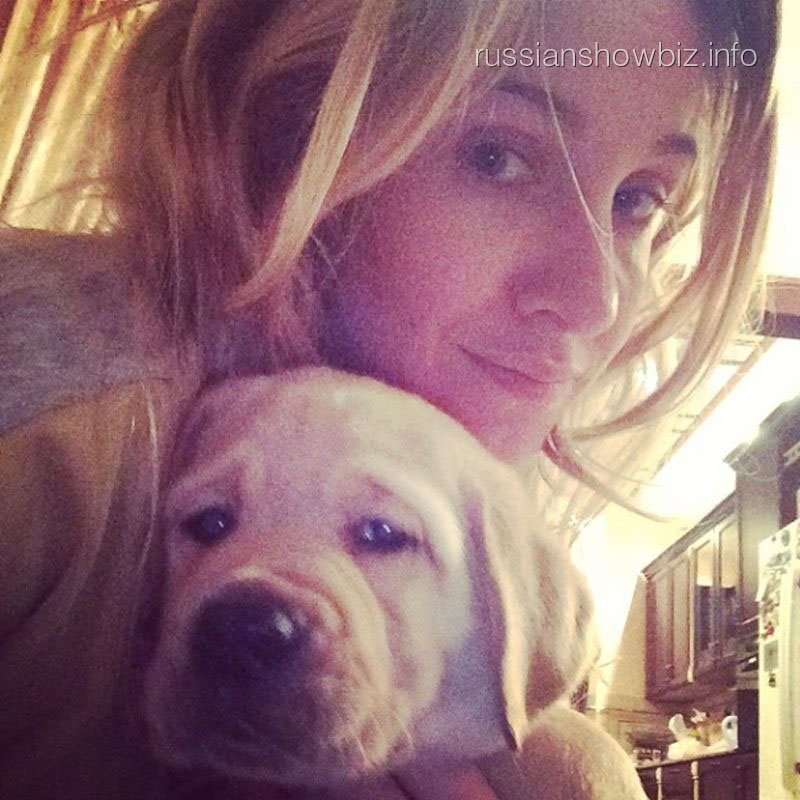 Юлия Ковальчук с собакой