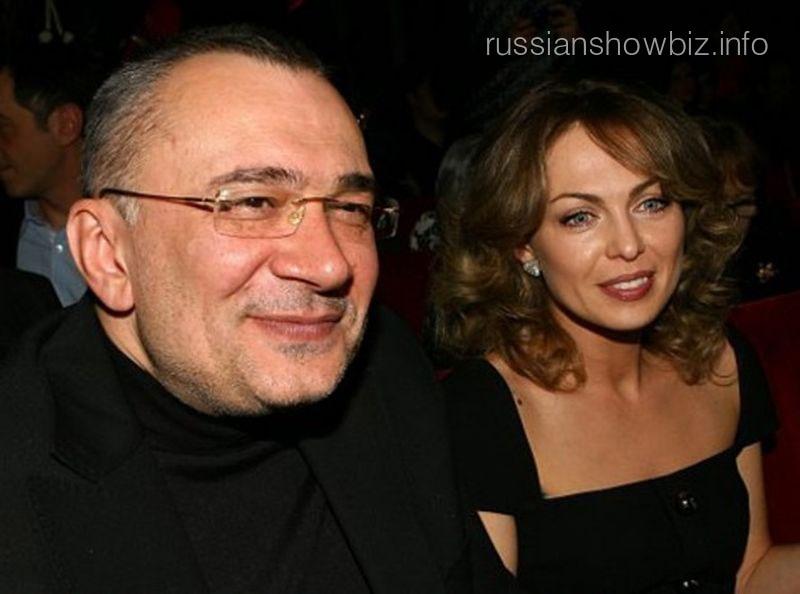 Константин Меладзе с бывшей женой