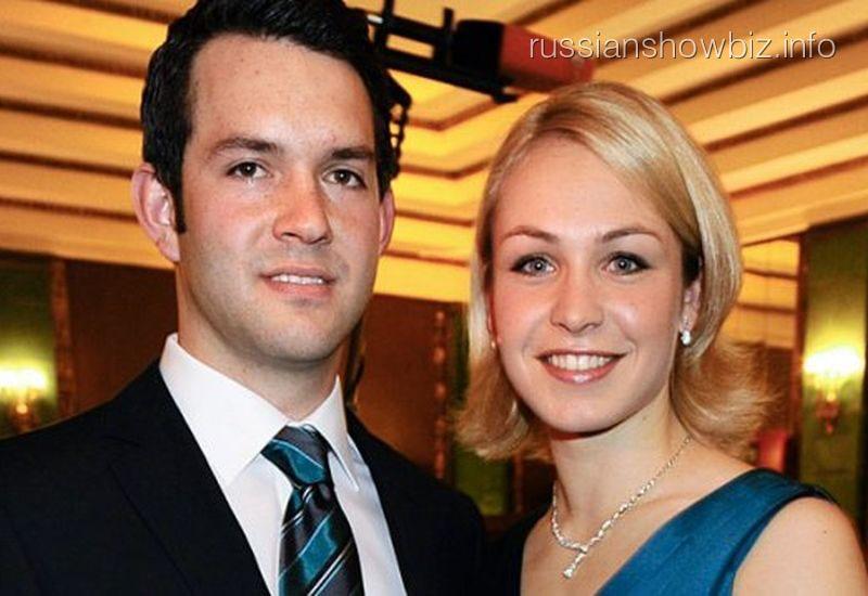 Магдалена Нойнер с мужем