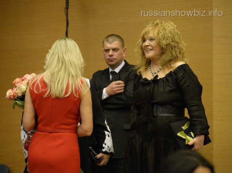 Алла Пугачева на показе Валентина Юдашкина