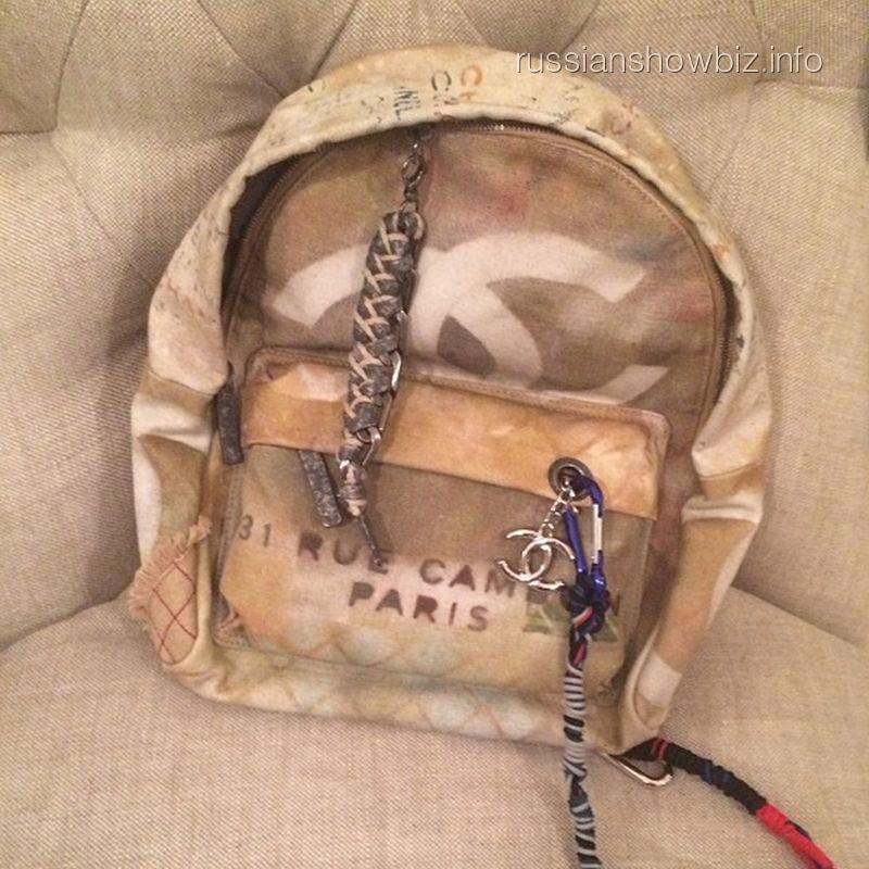 Новый рюкзак Ксении Собчак