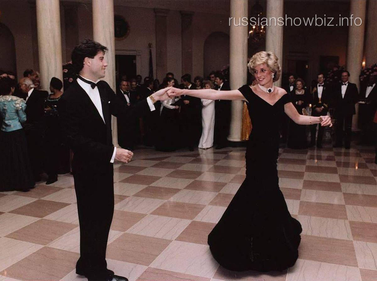 Джон Траволта и принцесса Диана