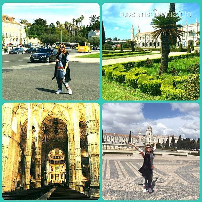 Анита Цой в Лиссабоне