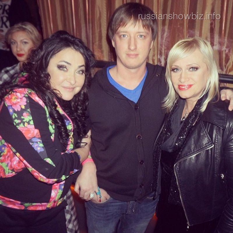 Лолита Милявская и Наталья Гулькина с сыном