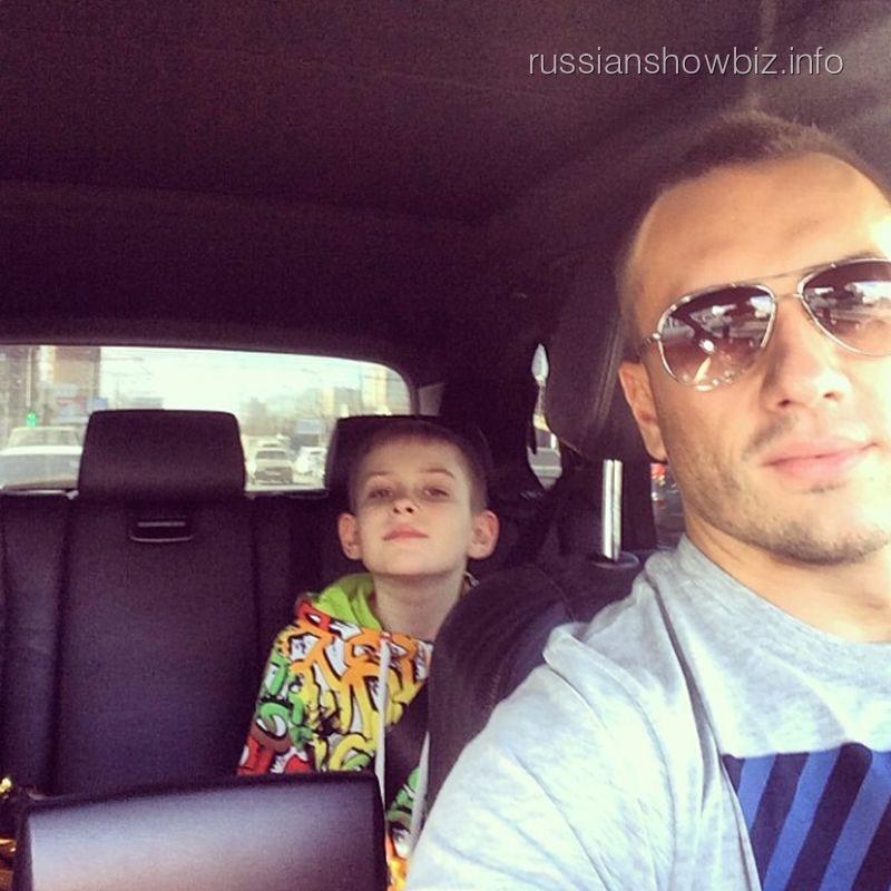 Михаил Терехин с сыном