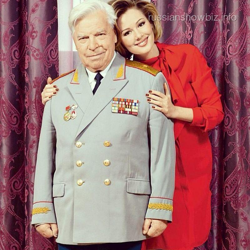 Мария Кожевникова с дедом