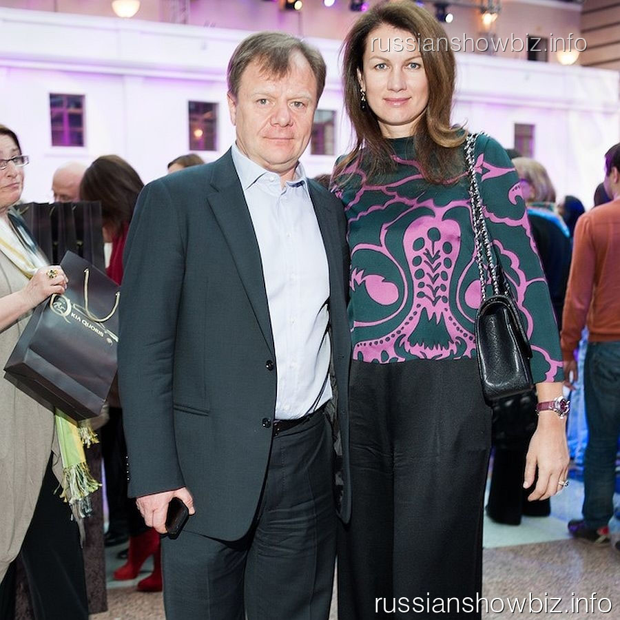 Игорь Бутан с женой