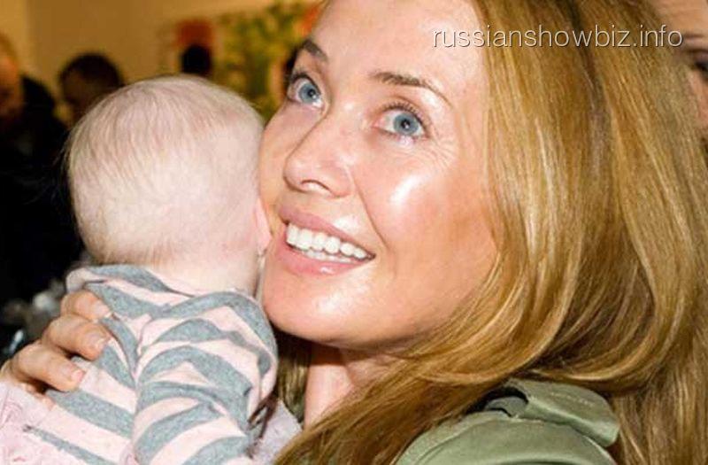 Жанна Фриске с сыном
