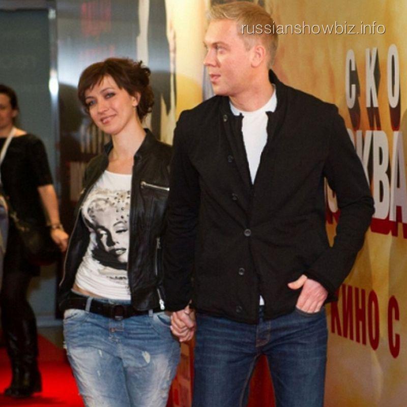 Сергей Светлаков с женой (фото - Woman.ru)