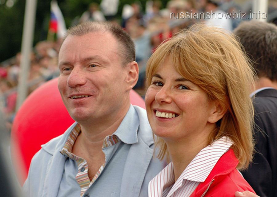 Владимир Потанин с бывшей женой