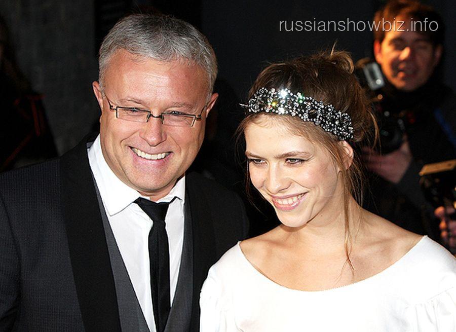Александр Лебедев с супругой Еленой