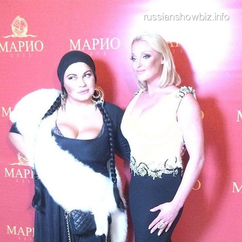 Елена Винярская и Анастасия Волочкова
