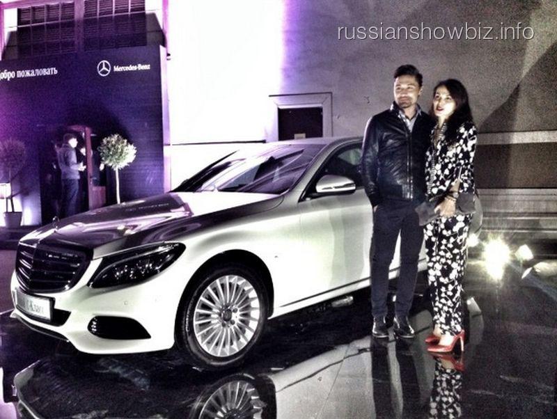 Диа Билан и Сати Казанова в рекламе Mercedes