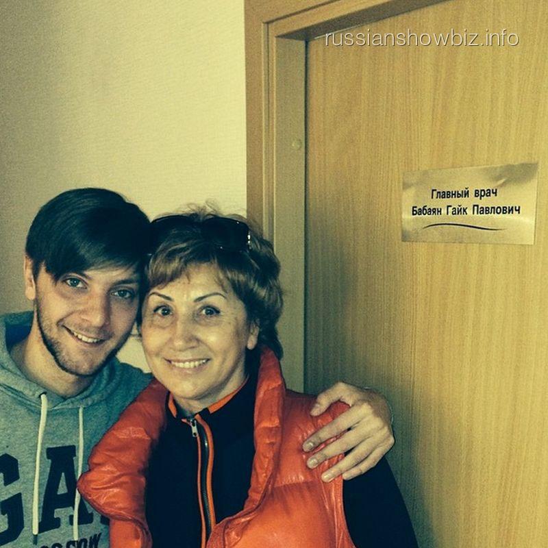 Лариса Копенкина с сыном