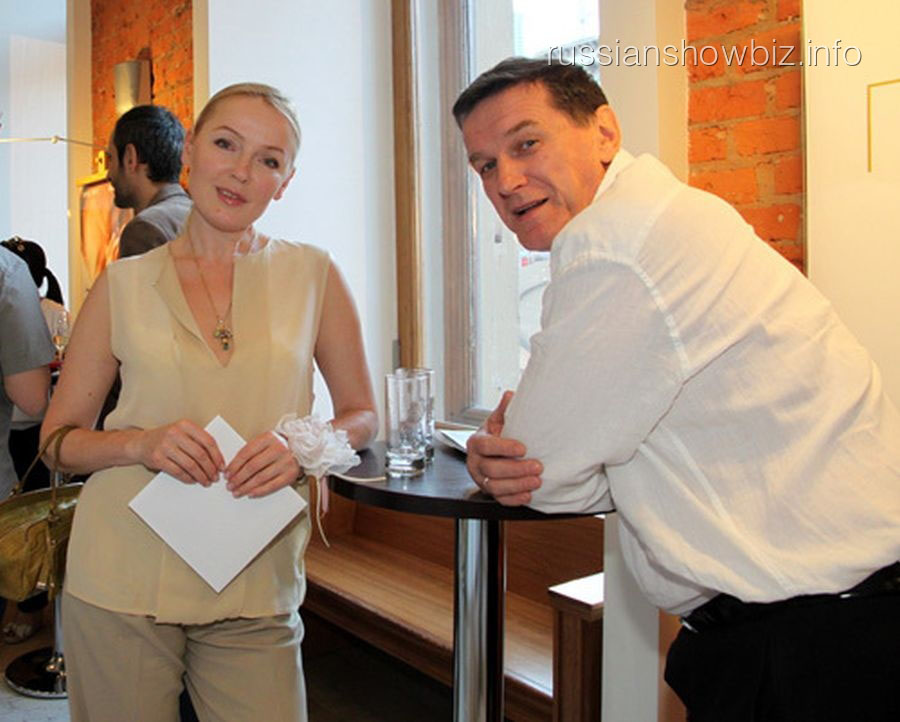 Лариса Вербицкая с мужем