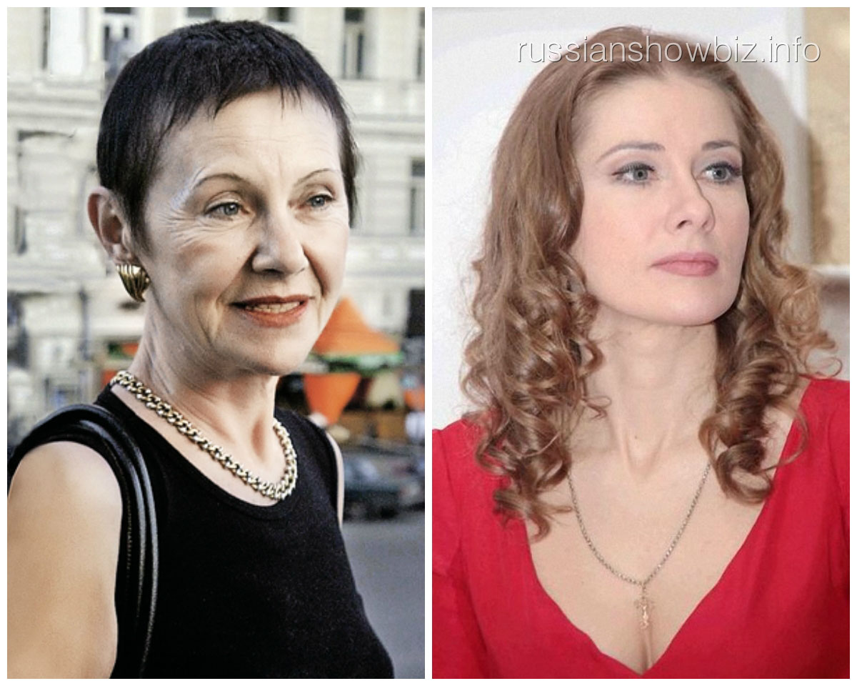 Тамара Золотухина и Ирина Линдт