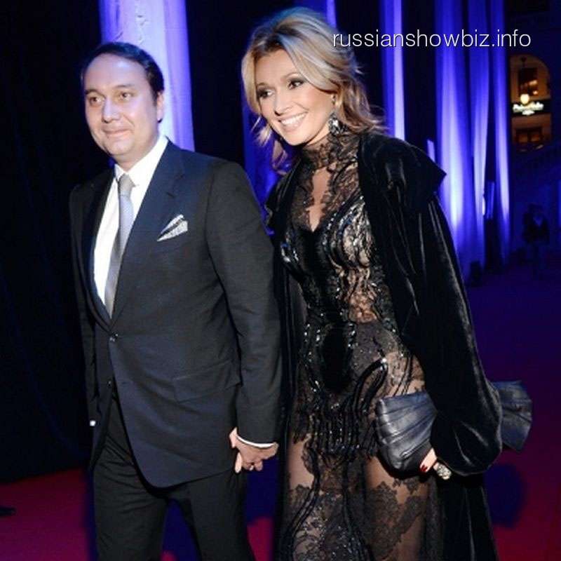 Анжелика Агурбаш с будущим мужем
