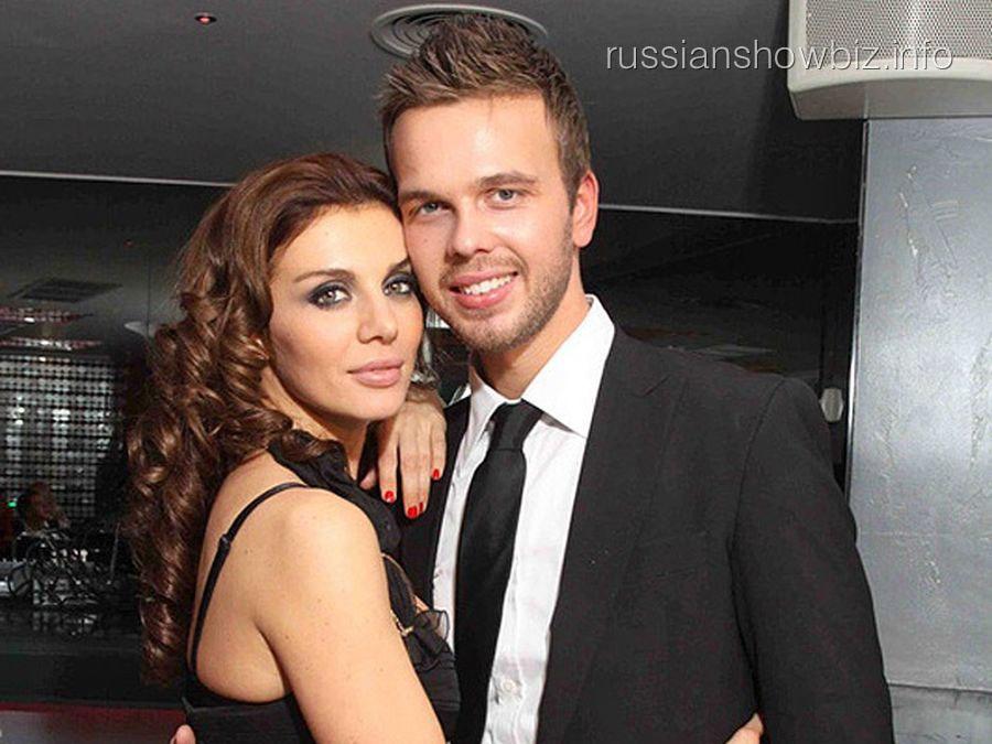 Анна Седокова с бывшим мужем