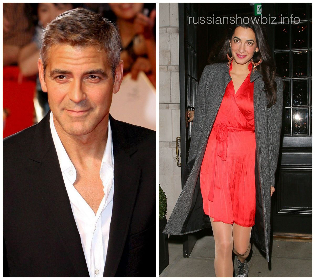 Джордж Клуни и Амал Амалуддин