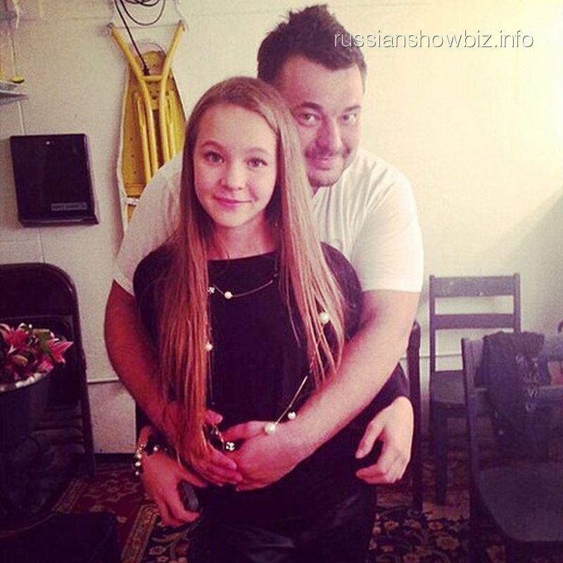 Сергей Жуков с дочерью
