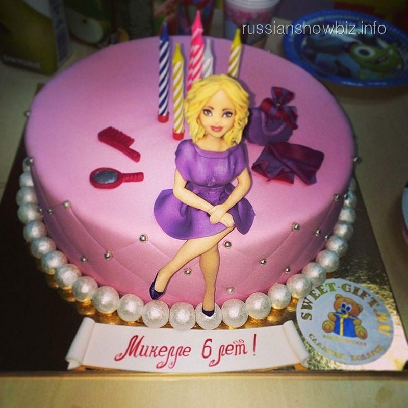 Праздничный торт дочки Алсу