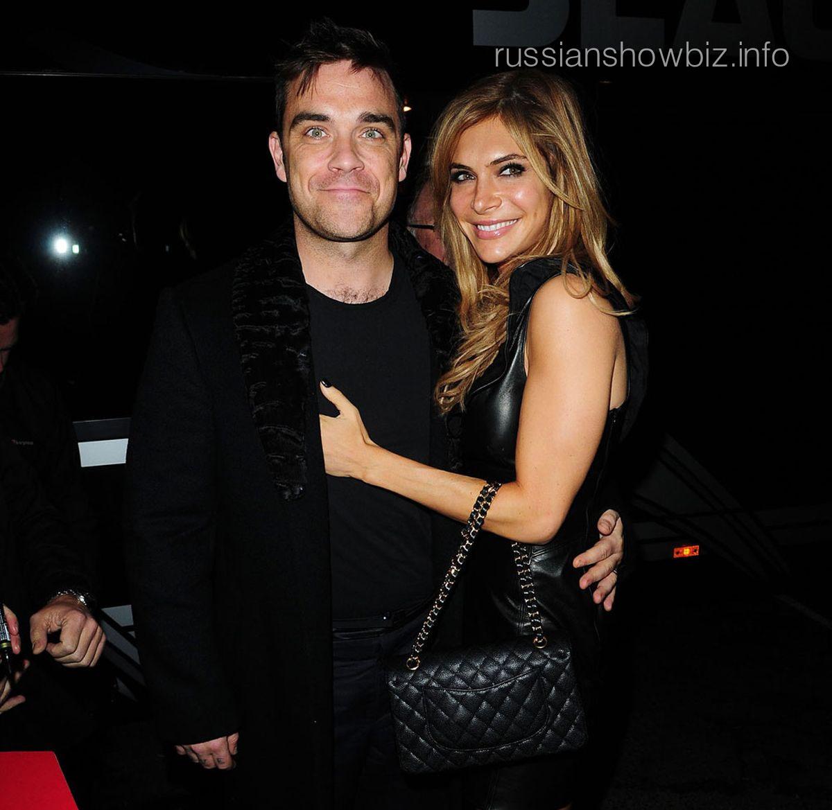 Робби Уильямс с женой
