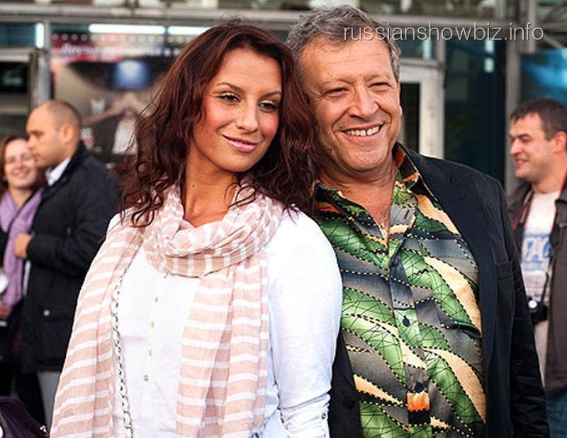 Борис Грачевский с бывшей супругой