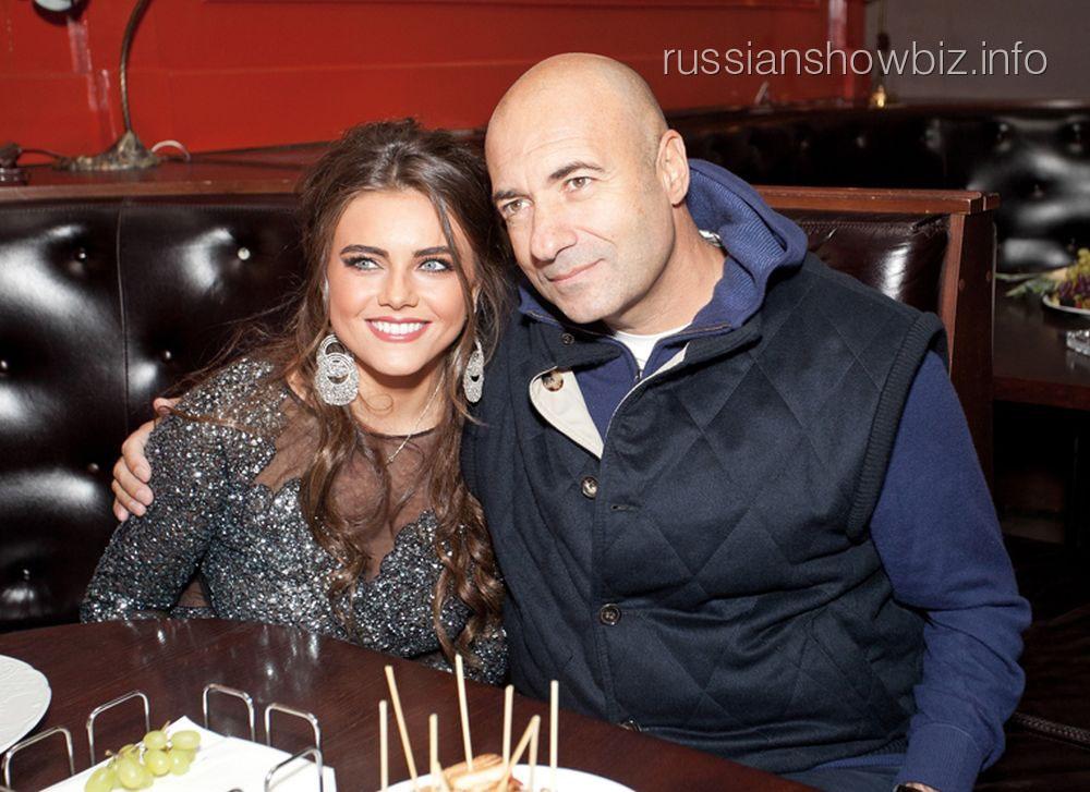 Игорь Крутой с дочерью