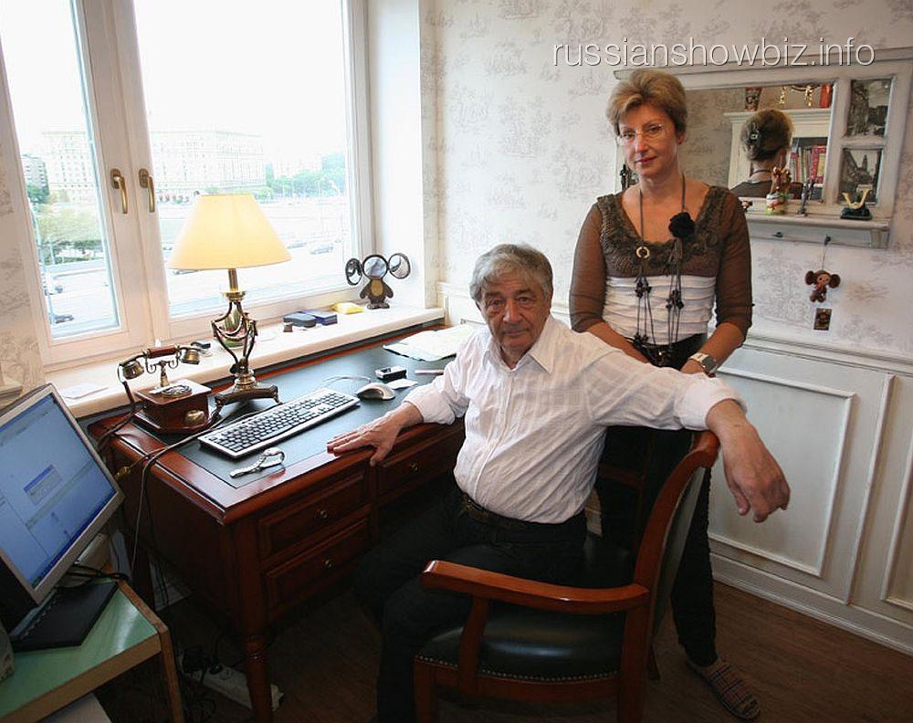 Эдуард Успенский с бывшей женой
