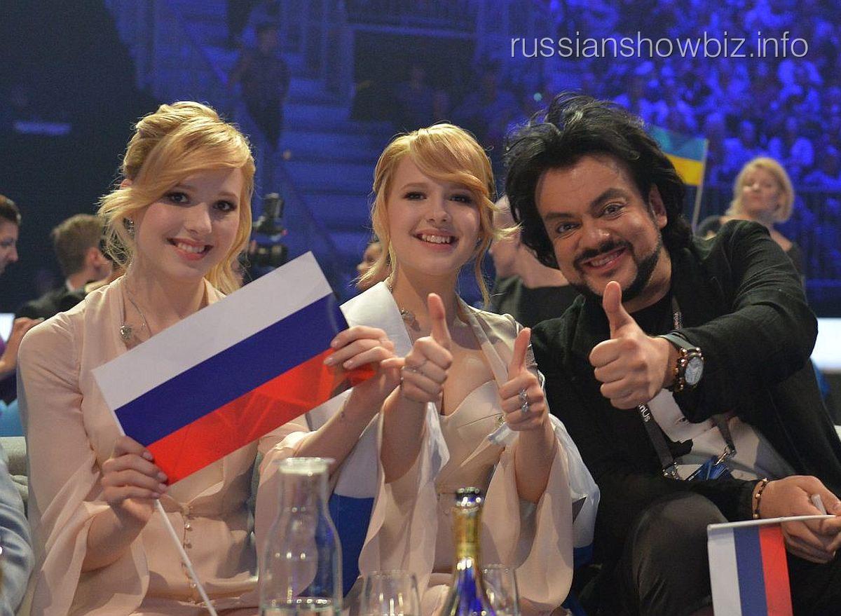 Сестры Толмачевы и Филипп Киркоров